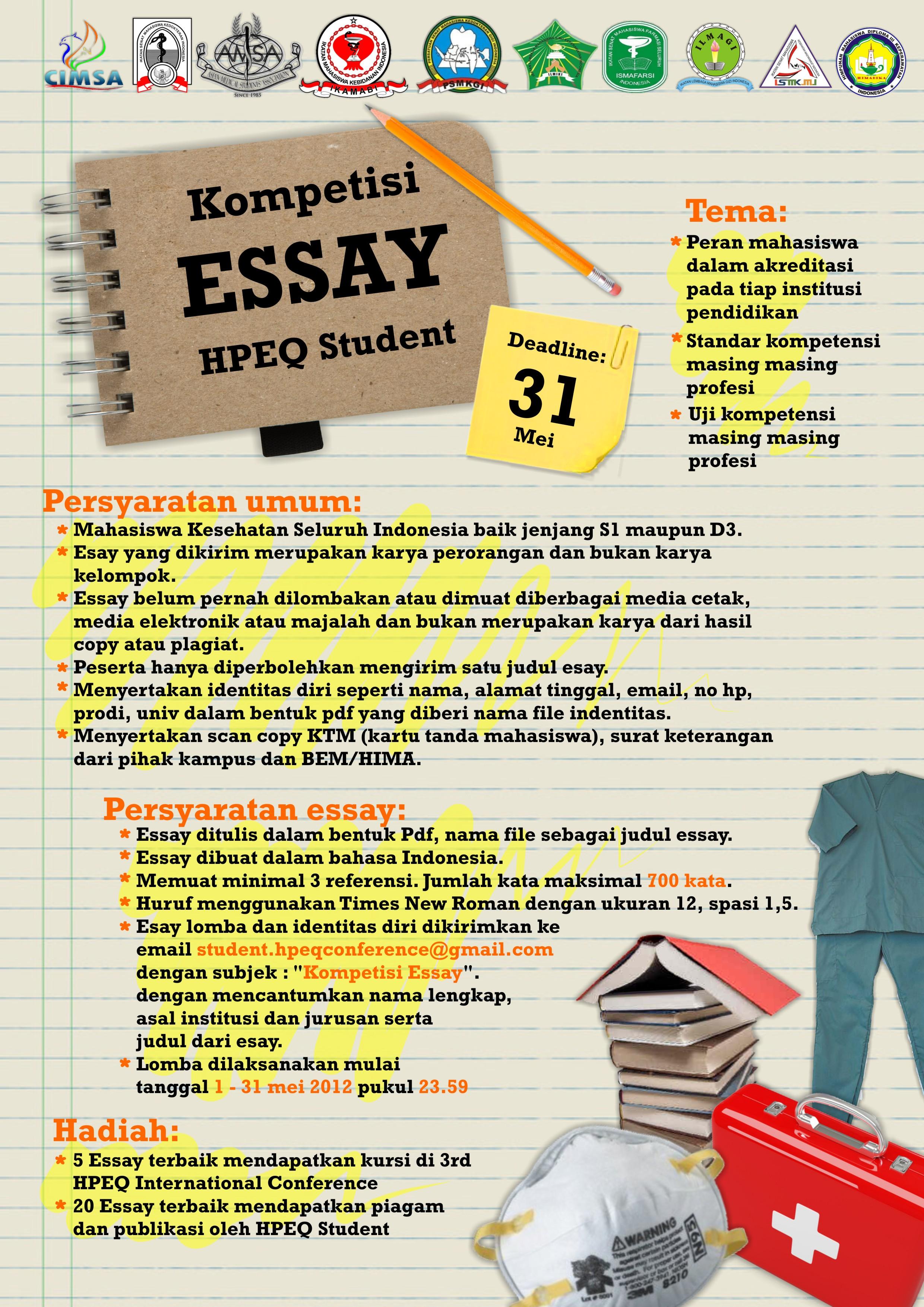essay tugas dan peranan himpunan mahasiswa
