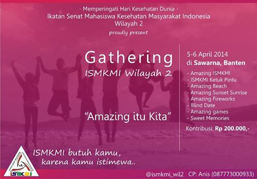 Agenda Gathering ISMKMI Wil 2